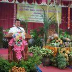 งานบริการวิชาการแก่สังคมโครงการเทศมหาชาติ ๗๗ จังหวัด การกุศล เพื่อเยาวชนไทย จังหวัดศรีสะเกษ