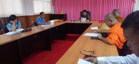 ประชุมคณะทำงานจัดทำรายงานการประเมินตนเองระดับวิทยาลัย